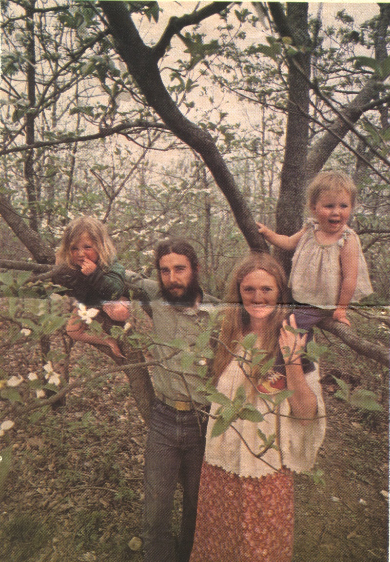 Nick and Mary Hubbard with their children Mark,, 3 1/2, and Ila, 2