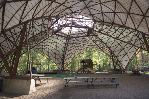 The Farm Dome or amphitheater -- Michelle Morrow | The Ledger